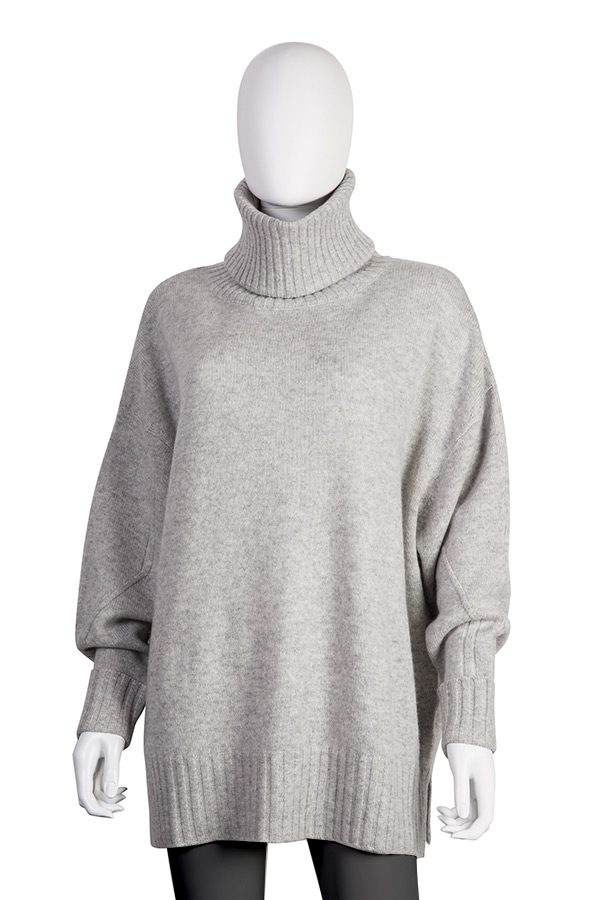Turtle-neck Oversized